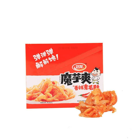 Weilong Spicy Konjac Snack - 20 Bags Snackoo