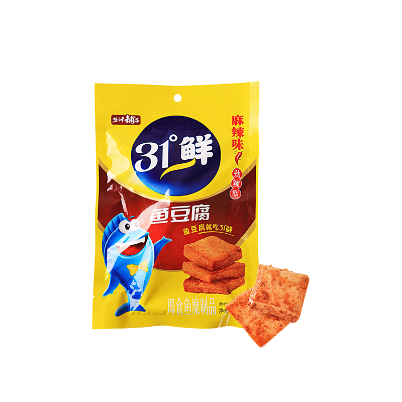 Yanjin Shop Fish Cake Spicy Flavor - 85g Snackoo