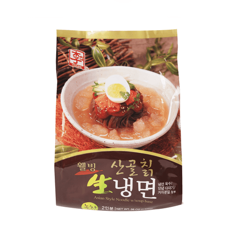 Yissine Nagengmyeo Noodles With Soup Base - 36oz Snackoo