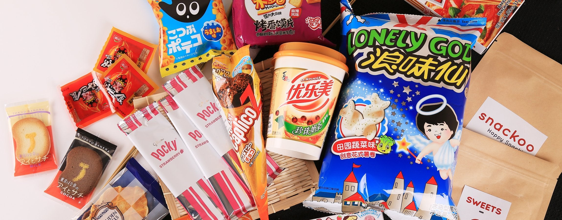 Asian Snacks for Office & Wholesale – Snackoo com
