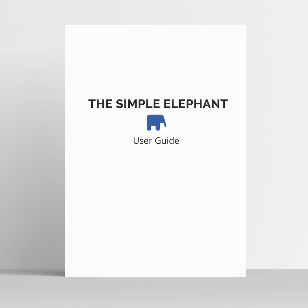 The simple elephant user guide papercode the simple elephant user guide publicscrutiny Choice Image
