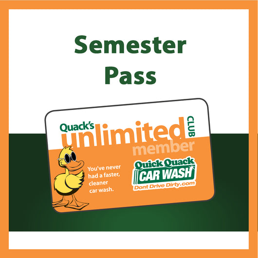 Unlimited Membership - Semester Pass