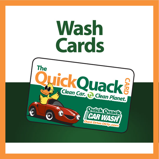 3, 5 & 8 Wash Cards