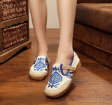 Boho Cotton linen Shoes