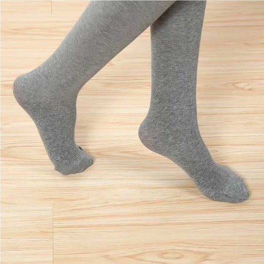 2016 Autumn Winter Women Tights 3 Colors Styles Sexy Women Cotton Pantyhose Black Gray Foot Female stockings Fashion Slim Tights
