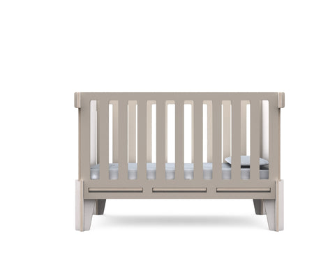CUNA REG CROSSING NATURAL GRIS, MONENS, Muebles para Bebé  - Babymundo