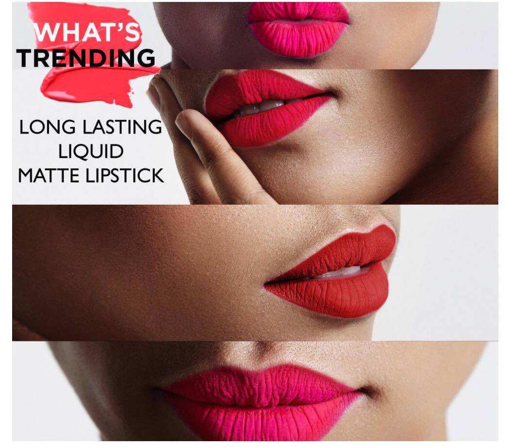 What's Trending!!! Matte Long Lasting Lipgloss