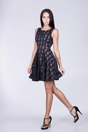 Little black flared dress - ZEMA Boutique  - 2