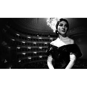 Maria Callas 'London Farewell Concert' at the Royal Festival Hall with Giuseppe di Stefano, 1973