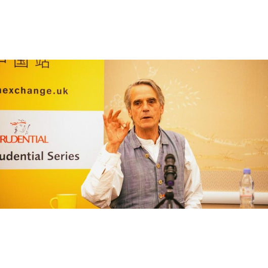 An Evening with Jeremy Irons - June, 2016 - High Definition Digital Video