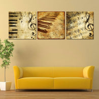 Classical Piano Music Notes - Modern Wall Art