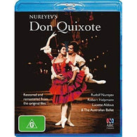 Don Quixote - Film Version, 1973 (Rudolph Nureyev as Basilio, Robert Helpmann as Don Quixote)