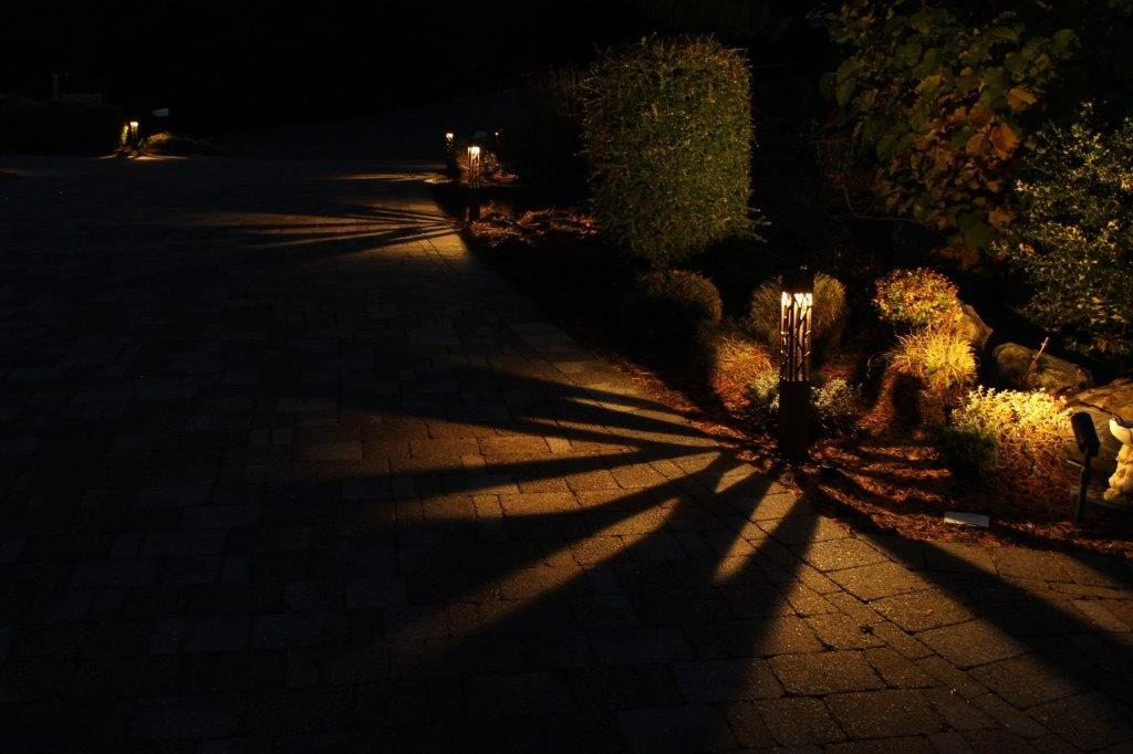 Landscape Lighting for driveways and paths