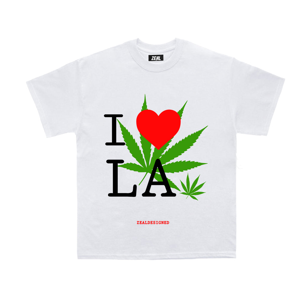 I LOVE LA TOURIST SHORT SLEEVE T-SHIRT