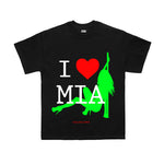 I LOVE MIA TOURIST SHORT SLEEVE T-SHIRT