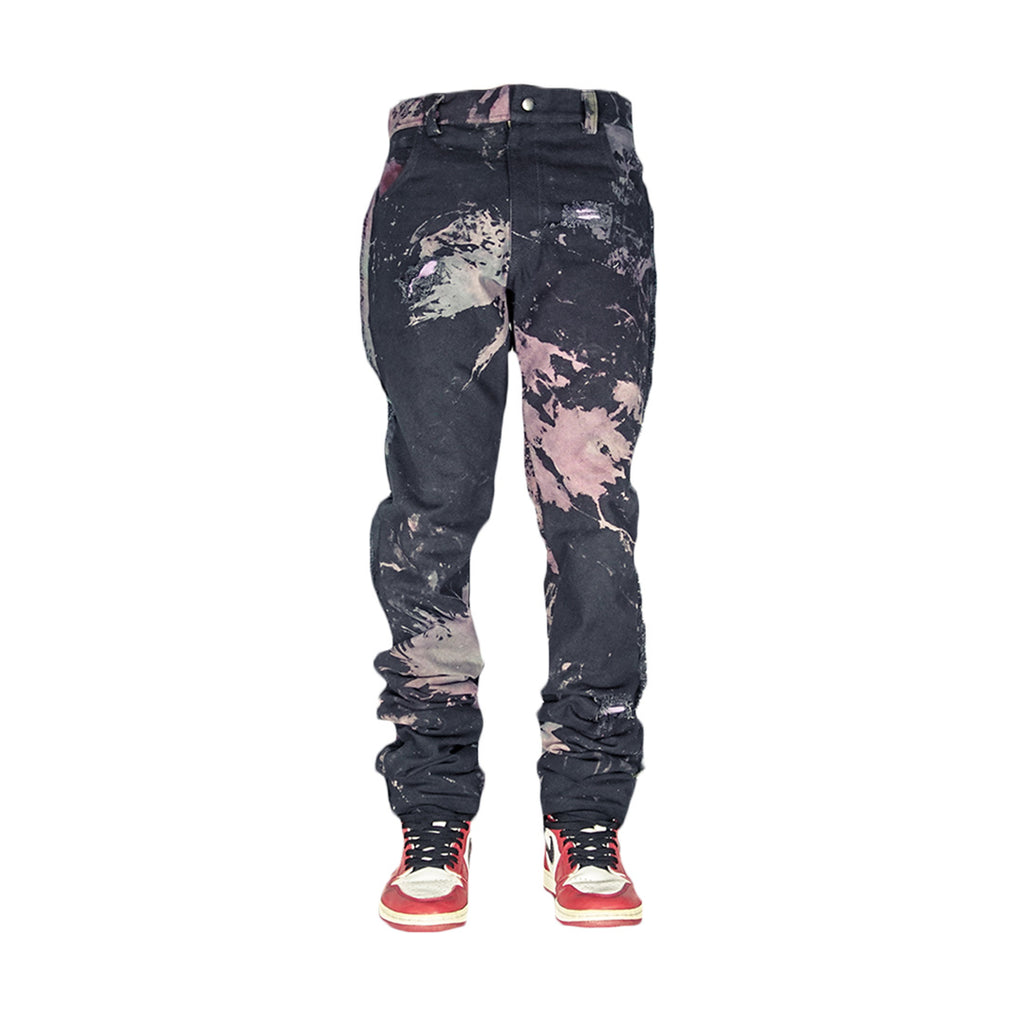 BLACK SCARE DENIM