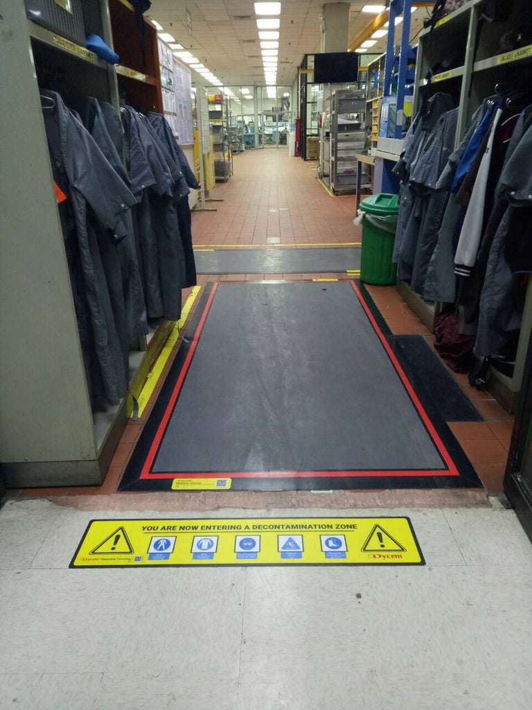 Tacky-Mat Floating Floor System