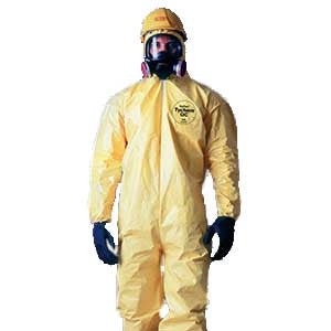Tychem QC Coverall