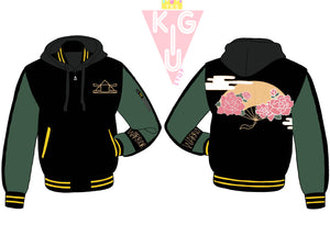 Kyoshi Warrior Hooded Varsity Jacket - Pre-Order