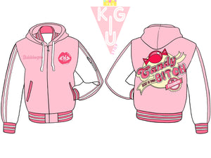 Candy Princess Hooded Varsity Jacket - Pre-Order Only