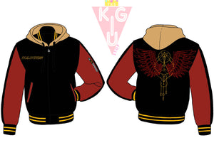 Winged Hero Hooded Varsity - Pre-Order