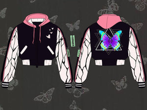 Butterfly Beauty Crop/Full Varsity - Pre-Order