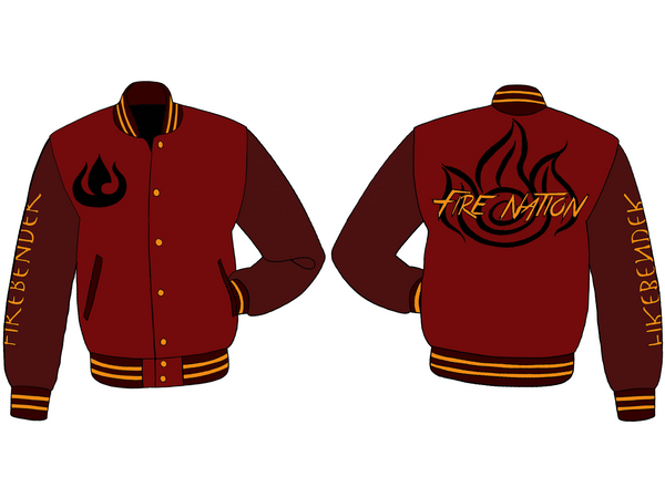 Fire Nation Varsity - Pre-Order