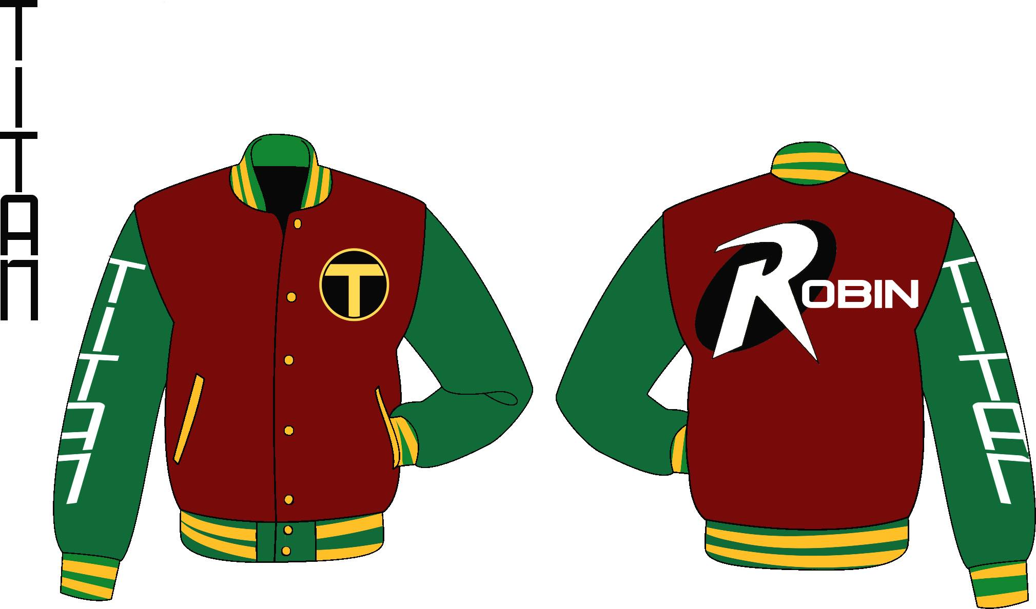 Boy Wonder Varsity Jacket