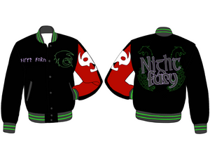 The Night Fury Varsity Jacket