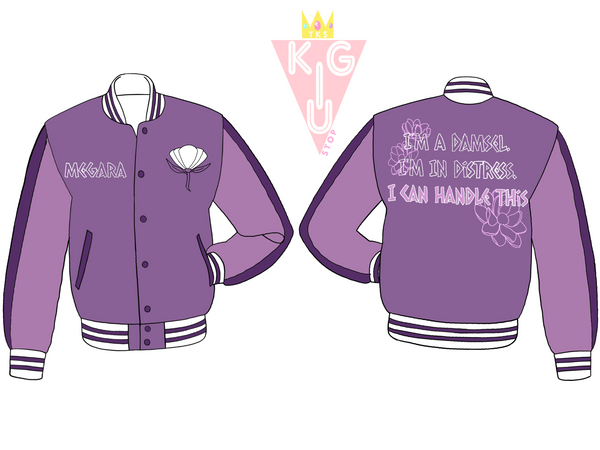 Don't Say You're in Love Varsity Jacket - Pre-Order