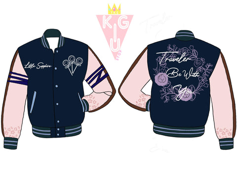 Traveler Be With You Varsity Jacket - Pre-Order