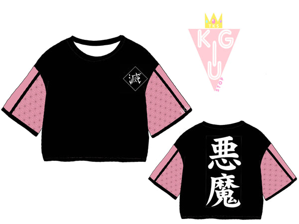 The Demon Princess Crop Tee - Pre-Order