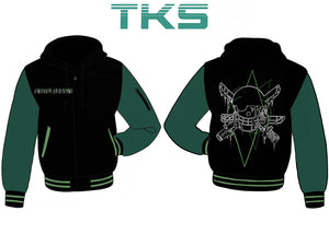 The Pirate Hunter Hooded Varsity - Pre-Order