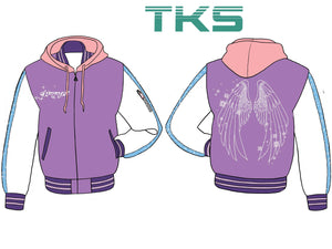 Glimmer Hooded Varsity - Pre-Order Only