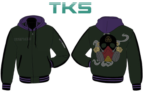 Overhaul Hooded Varsity Jacket - Pre-Order