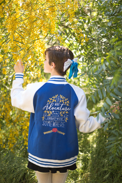 The Simple Beauty Varsity Jacket - Pre-Order
