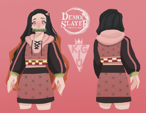 Demon Princess Crop Hoodie