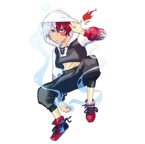 Todoroki Vinyl Sticker