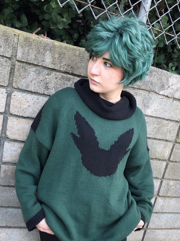 Green Boi Turtleneck Sweater