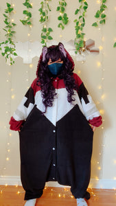 Dark Flame Kigurumi - Custom Commission