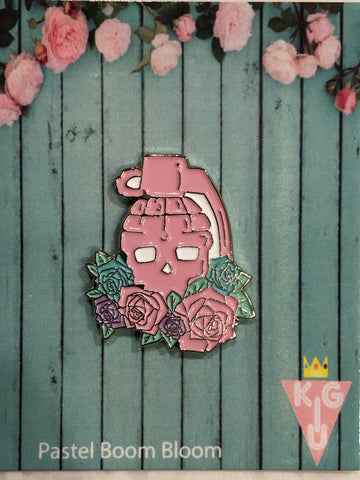 Pastel Boom Bloom Pin - LIMITED