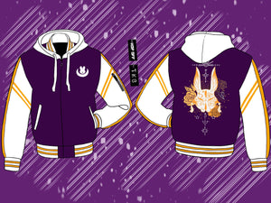 Fight like a Bun Hooded Varsity - Pre-Order Only