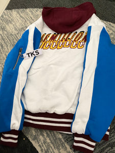 Chosen Hero Hooded Varsity Jacket