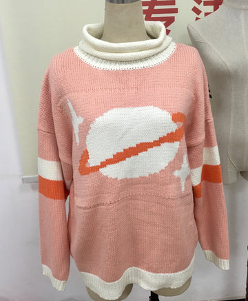 Float Princess Turtleneck Sweater