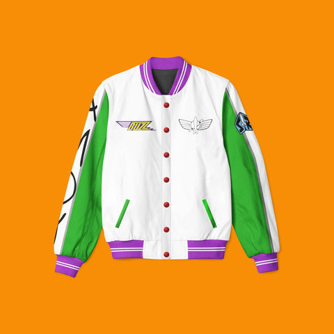 Space Ranger Varsity Jacket