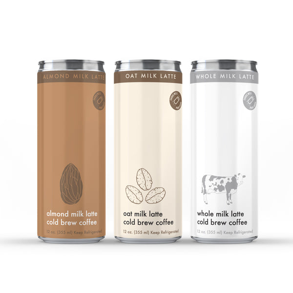 NOBL Cold Brew Coffee Latte Cans (12/case)
