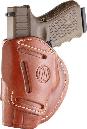 1791 FOUR WAY MULTI-FIT IWB/OWB HOLSTER RH BROWN #5