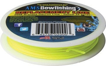 AMS Retriever Bowfishing Line Yellow 200 lb. 25 yds.