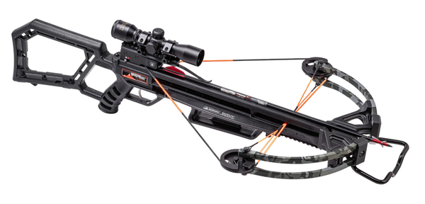 Wicked Ridge Blackhawk 360, Rope Cocker, Multi-Line Scope