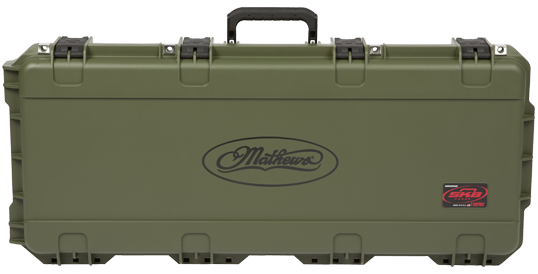 SKB Mathews i series Bow Case Green 28in